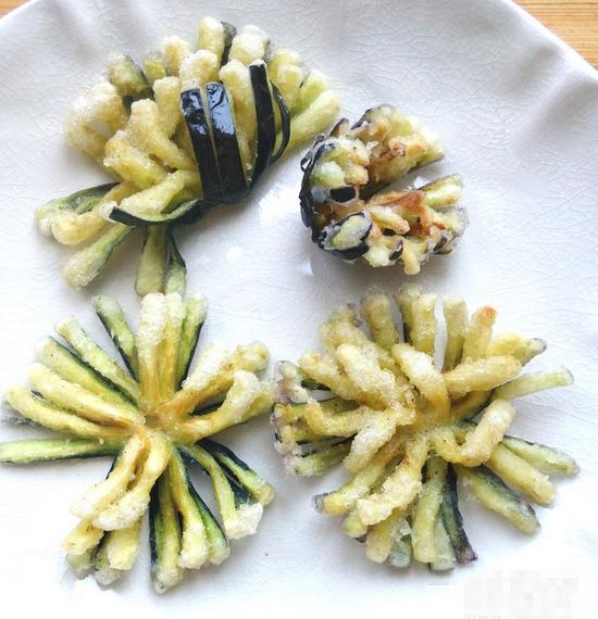 菊花茄子怎么煮