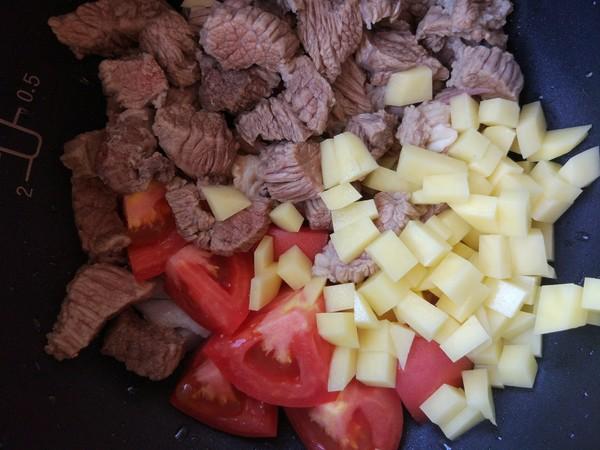 番茄土豆牛肉汤的简单做法