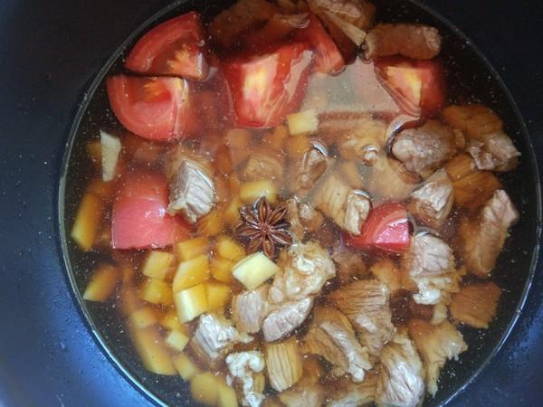 番茄土豆牛肉汤怎么吃