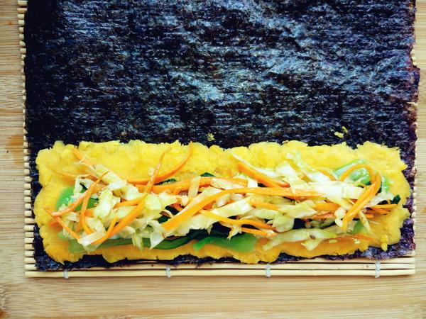 红薯紫菜卷怎么做