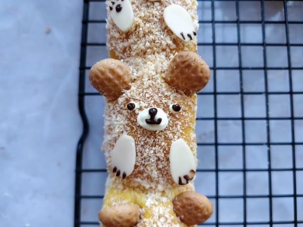 小熊枸杞面包的制作