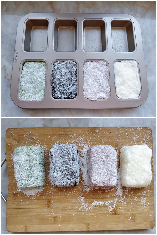 多色魔方奶冻怎么做