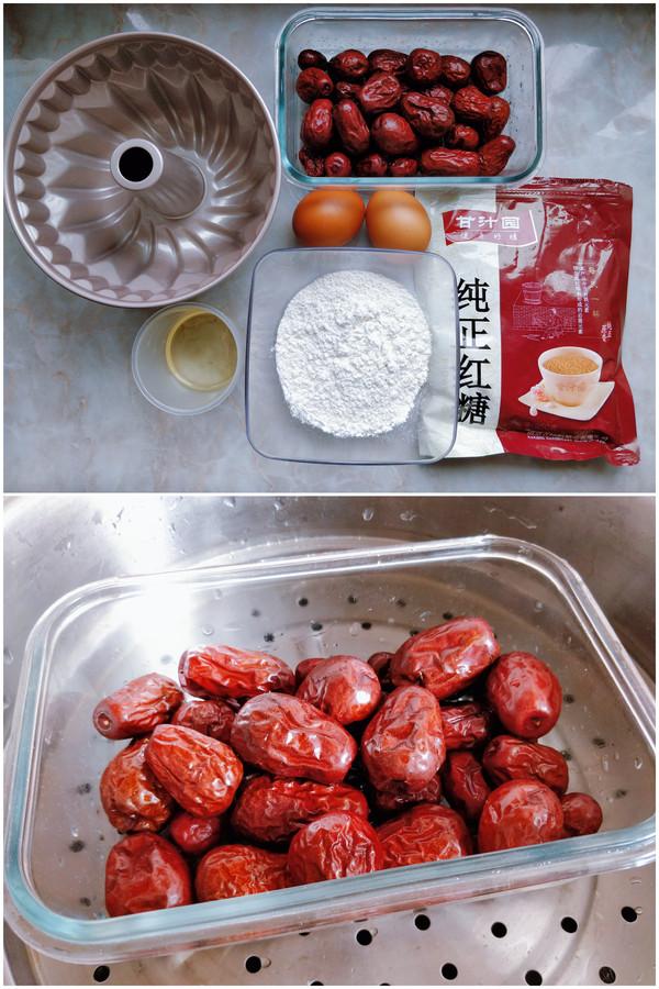 红糖枣糕的做法大全