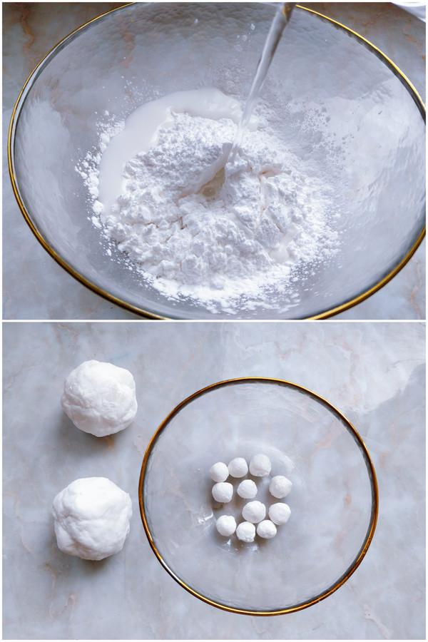 琥珀珍珠西米露的做法图解
