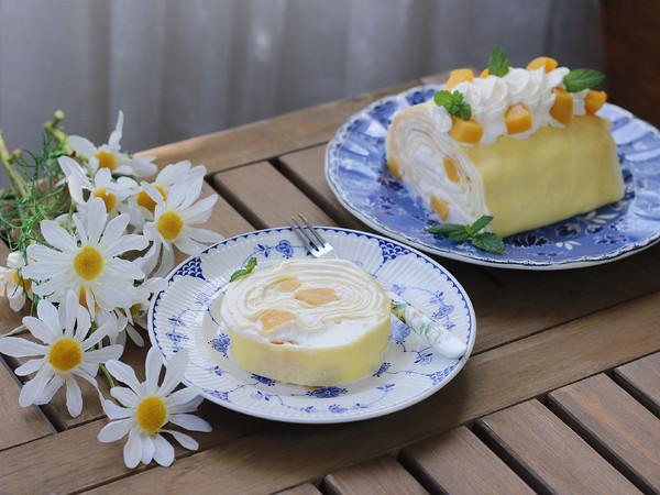 黄桃千层蛋糕卷怎样炖