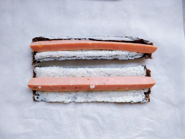 脱糖花式寿司的步骤