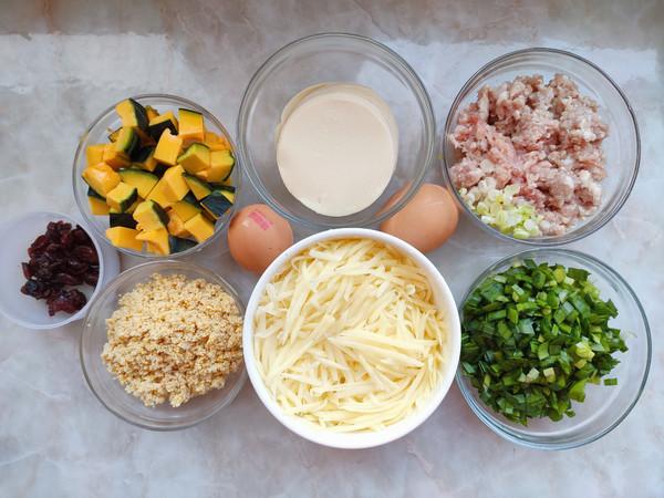 猪肉锅贴、土豆丝鸡蛋饼、南瓜小米粥的做法大全