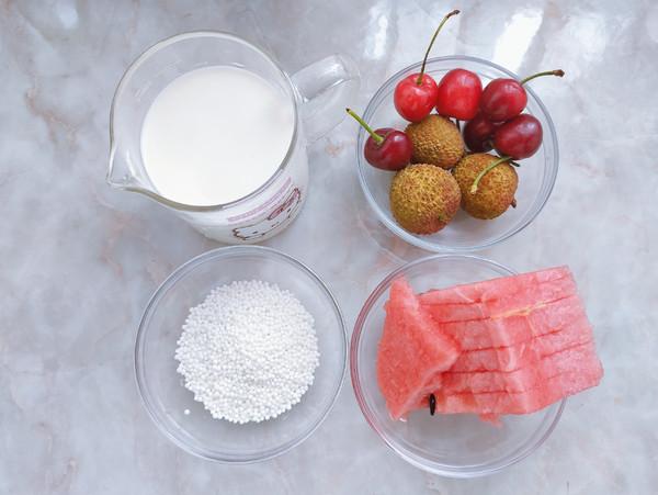 抹茶华夫饼、水果西米露的做法大全