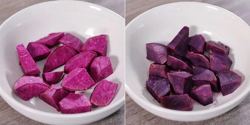 软软的紫薯小餐包,谁不喜欢?的做法大全