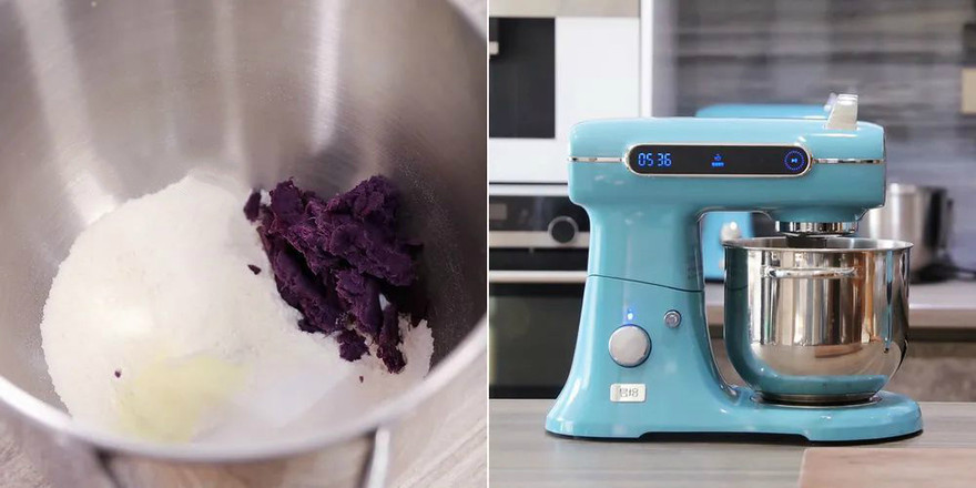 软软的紫薯小餐包,谁不喜欢?的家常做法
