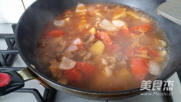 番茄炖牛腩怎么煮