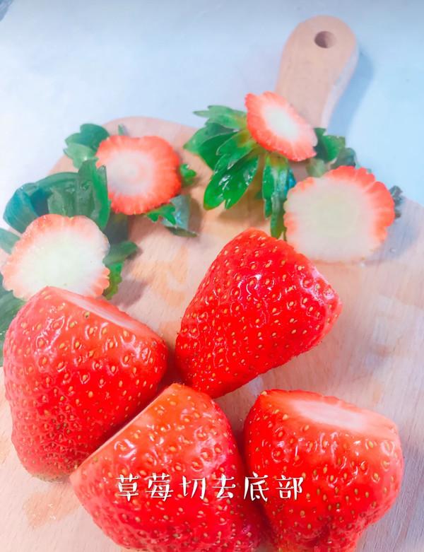 草莓大福怎么做