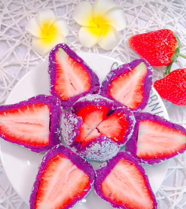 草莓大福怎样煸
