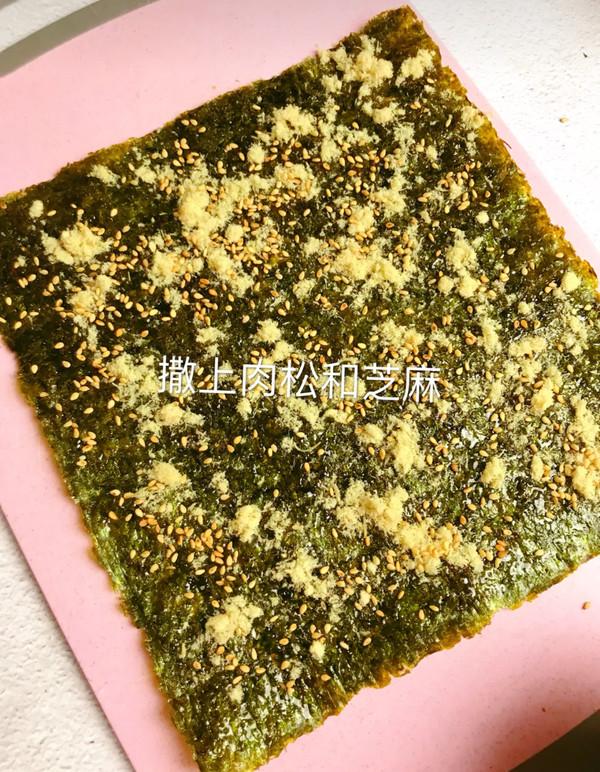 海苔肉松卷的简单做法