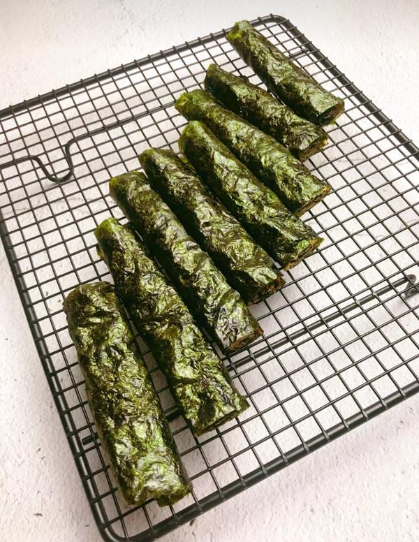 海苔肉松卷怎么炒