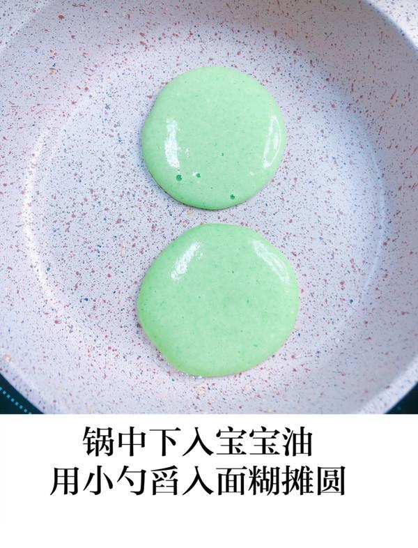 【油菜米粉小松饼】怎么煮