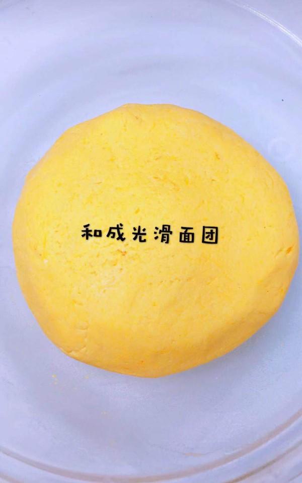 南瓜糯米豆沙包的家常做法