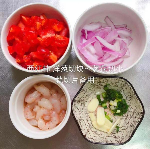 番茄虾仁意面的简单做法