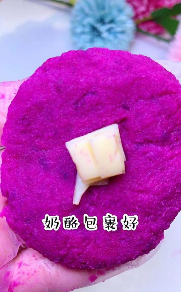 紫薯奶酪包的简单做法