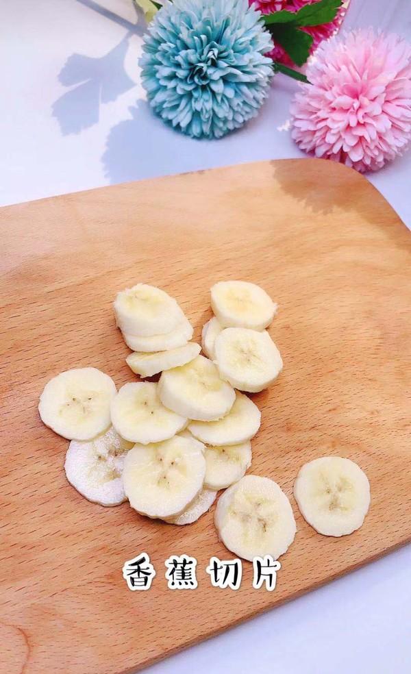 奶酪香蕉鸡蛋饼的做法图解