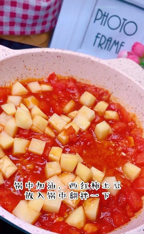 西红柿烩饭的家常做法