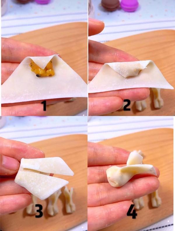 小金鱼馄饨怎么吃