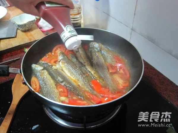 番茄焖尖头鱼怎么煮