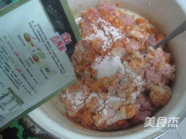 胡萝卜香菜馅饺子的家常做法