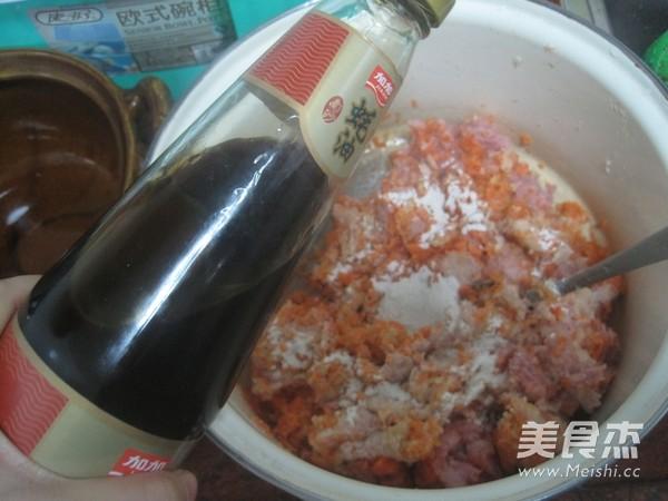 胡萝卜香菜馅饺子的简单做法