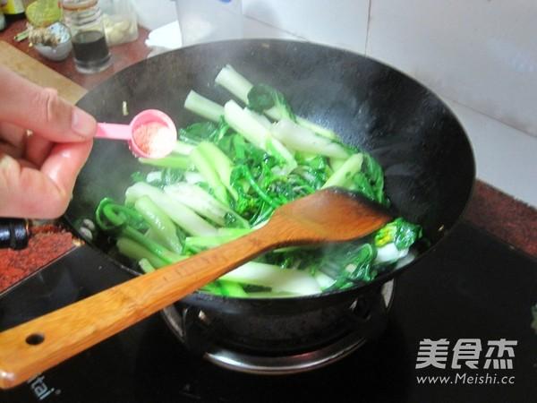 蚝油白菜心怎么吃