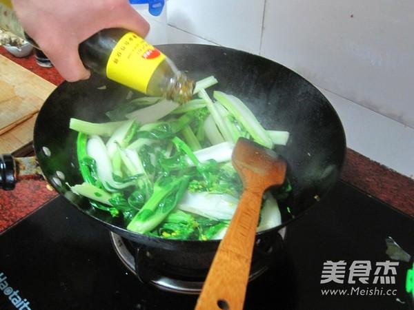 蚝油白菜心怎么做