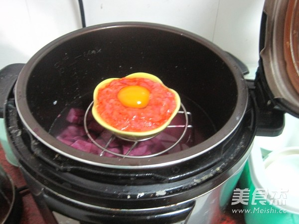 胡萝卜肉末蒸蛋怎样煸