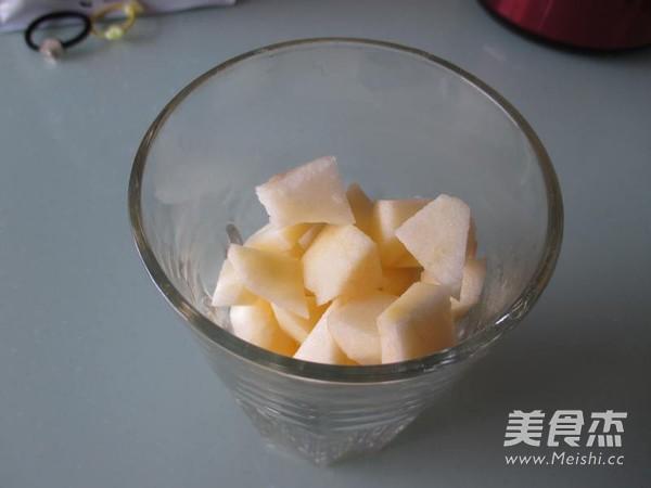 苹果雪梨汁的做法图解