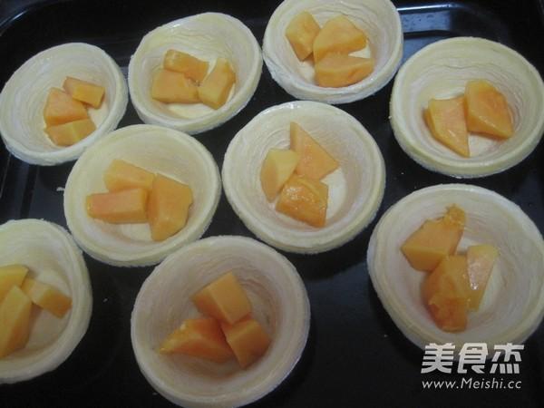 木瓜蛋挞的简单做法