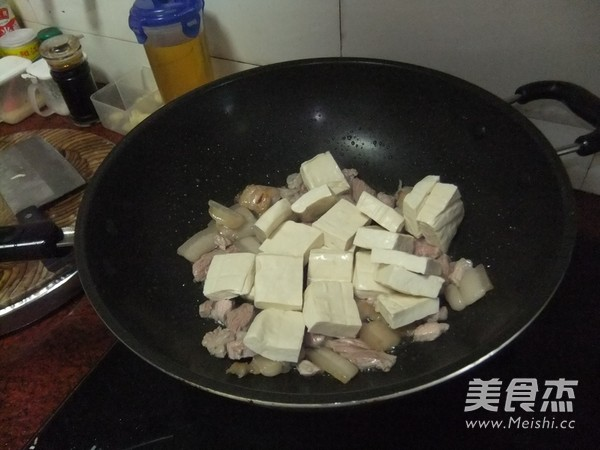 五花肉焖豆腐怎么吃