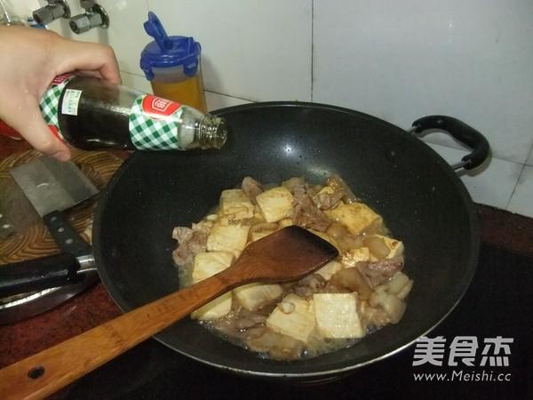 五花肉焖豆腐怎么煸