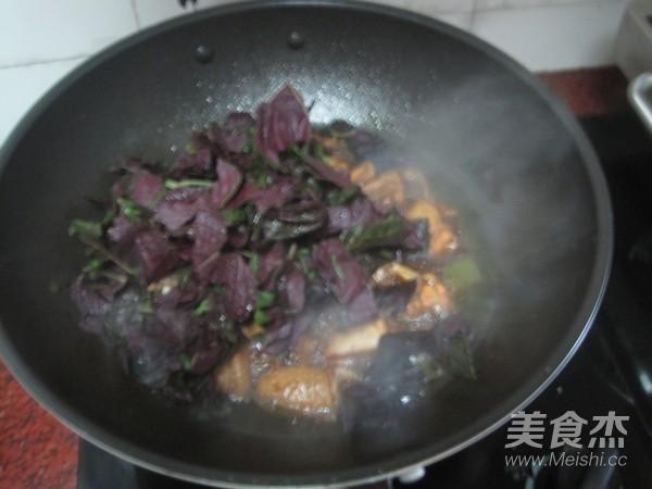 紫苏焖鸡怎么煸