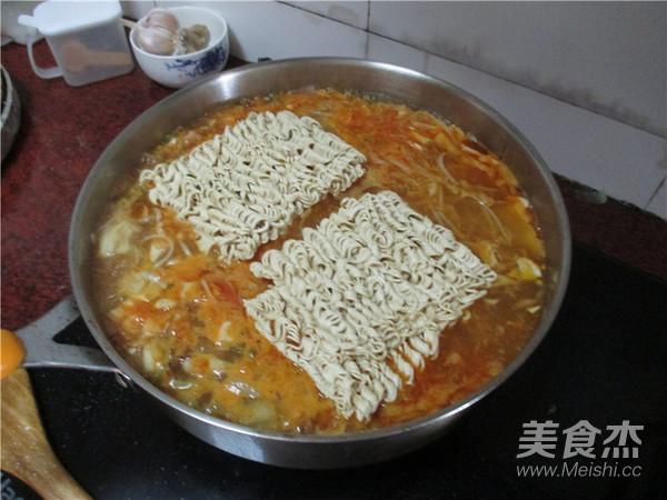 韩式泡菜面怎样煸