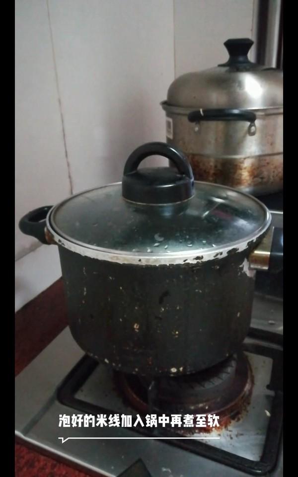 酸菜午餐肉米线的简单做法