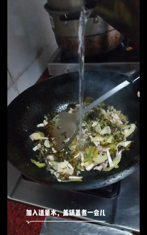 酸菜午餐肉米线怎样做