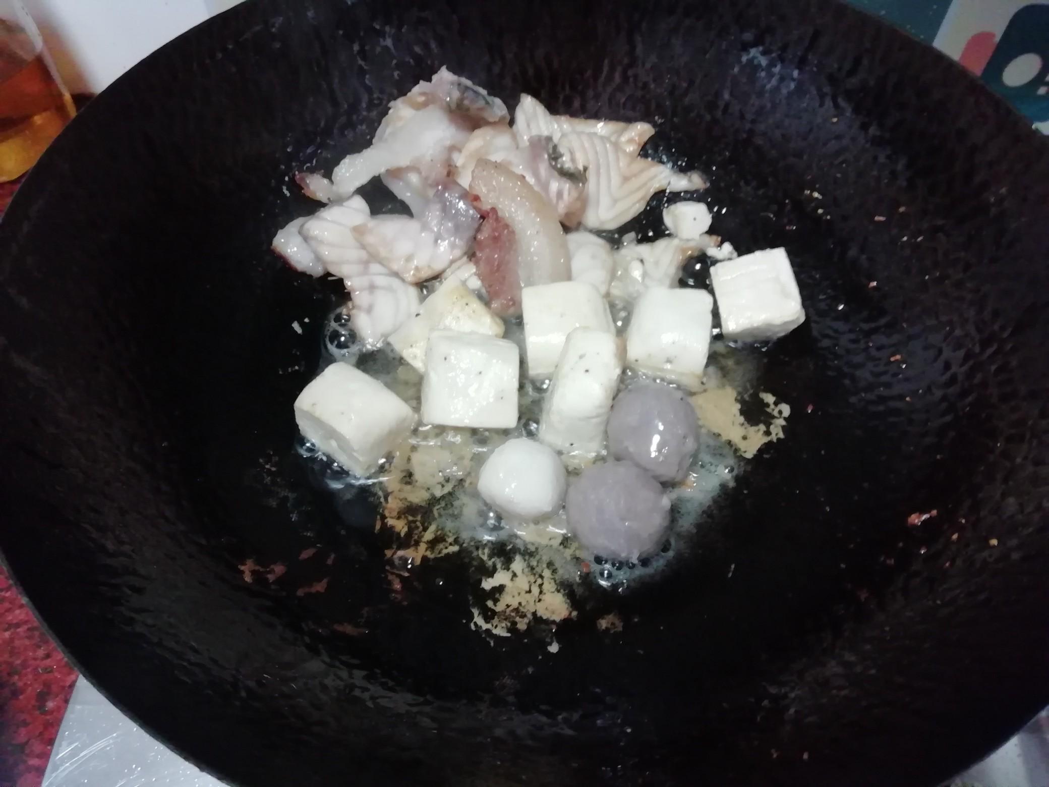 大杂烩煮面的简单做法