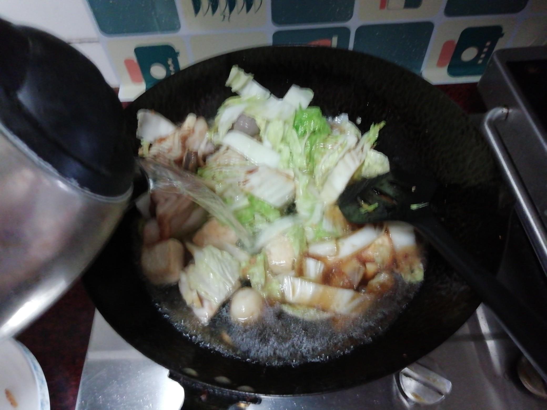 大杂烩煮面怎么煮