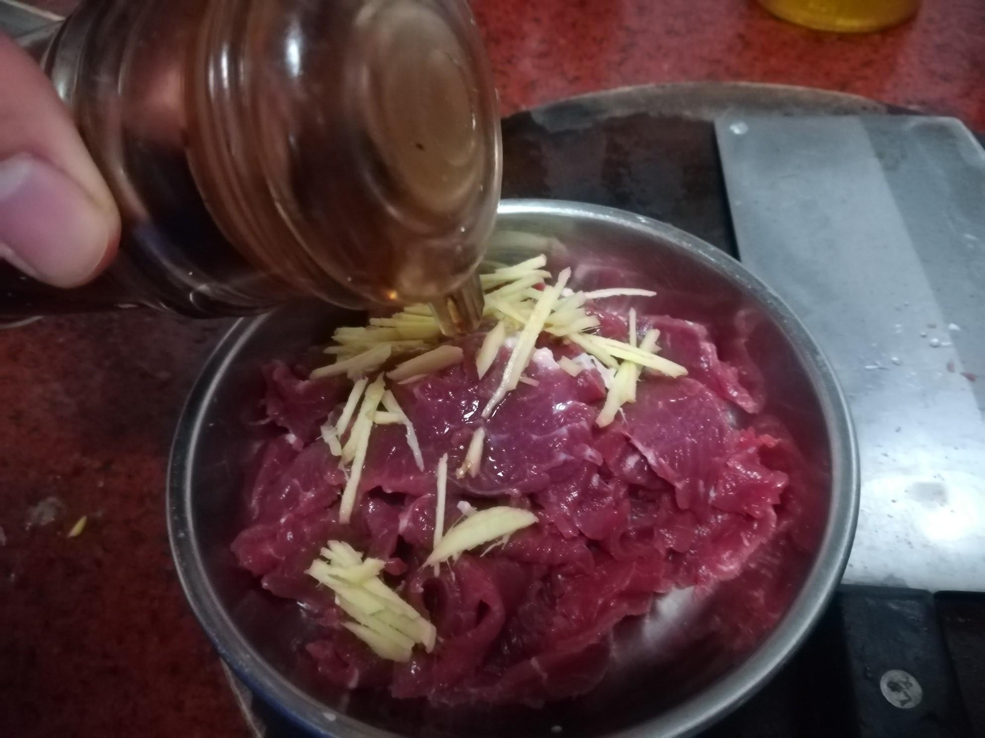 番茄炒牛肉的家常做法