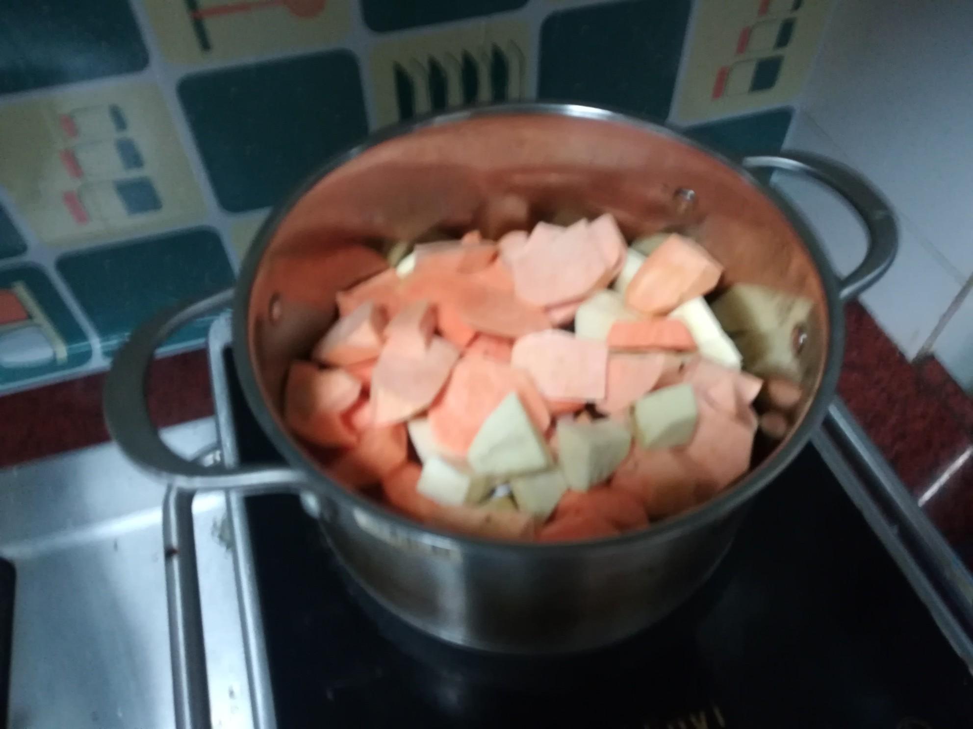 水晶红薯汤圆的做法大全