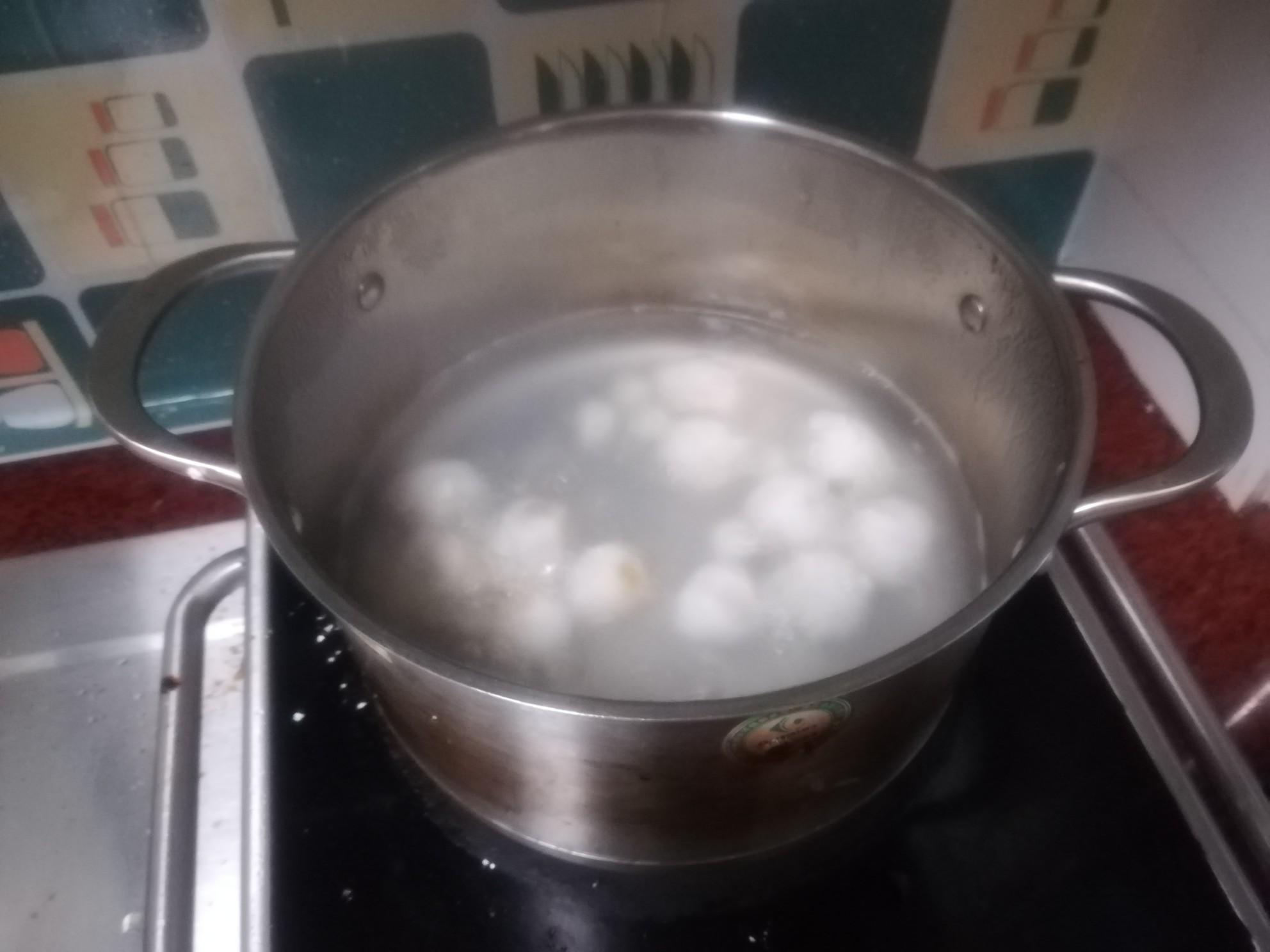 水晶红薯汤圆怎样煸