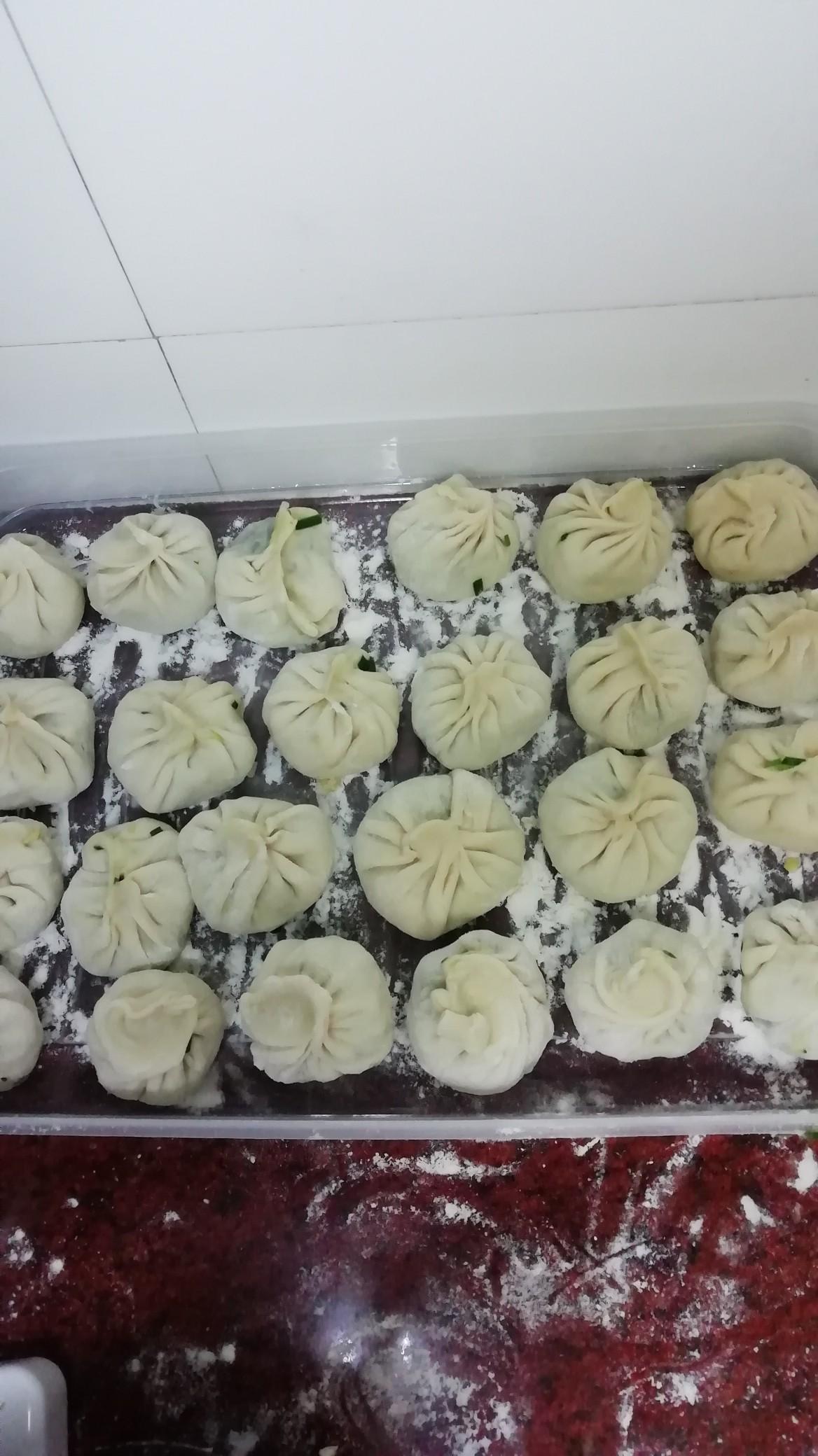 韭菜素蒸饺怎么煮