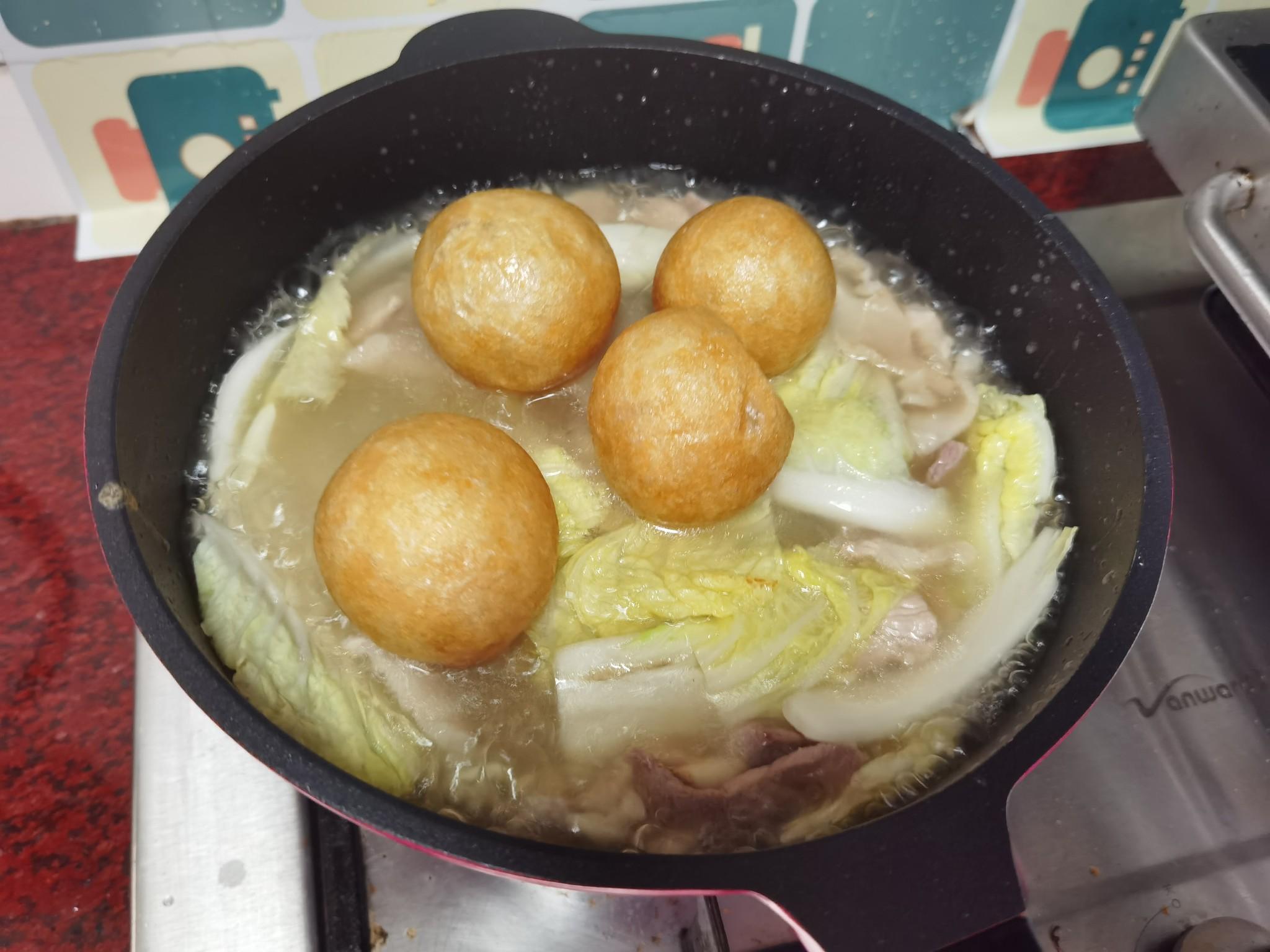金针菇粉丝煲怎么煮