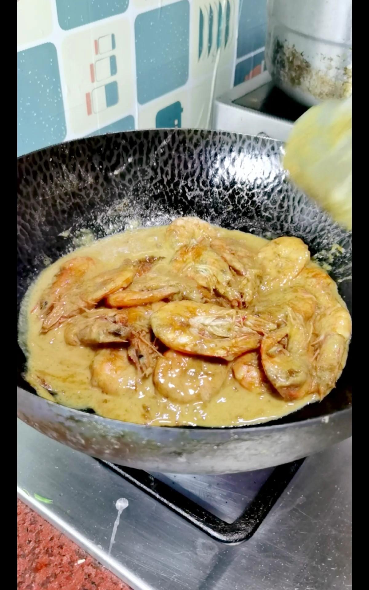 泰式咖喱虾怎么炒