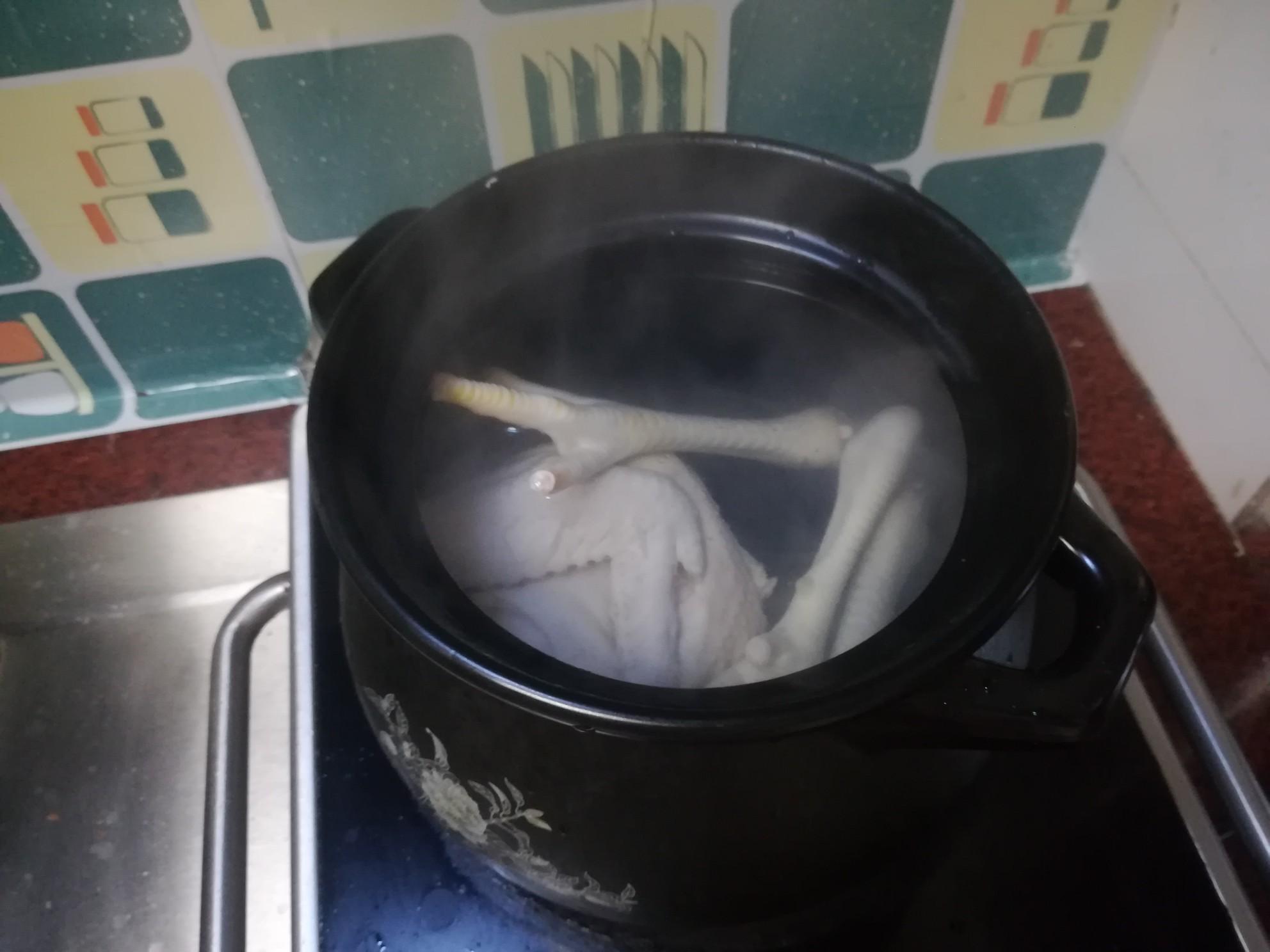 石斛煲鸡汤的简单做法