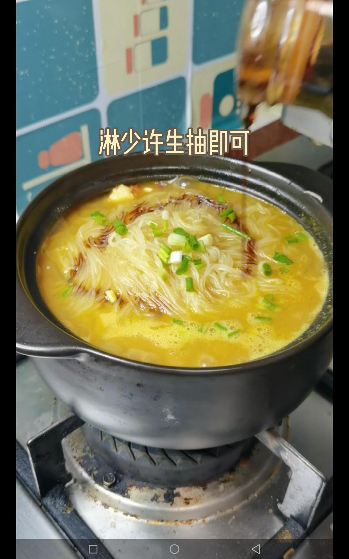 咖喱虾仁粉丝煲怎么炖